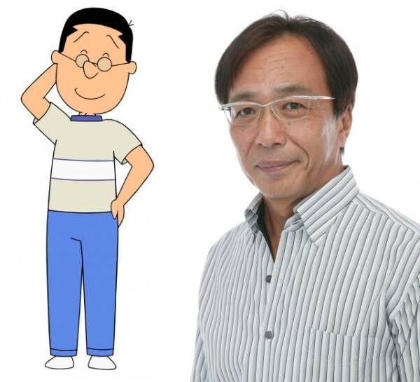 『サザエさん』マスオさん役を新たに務める田中秀幸(C)長谷川町子美術館