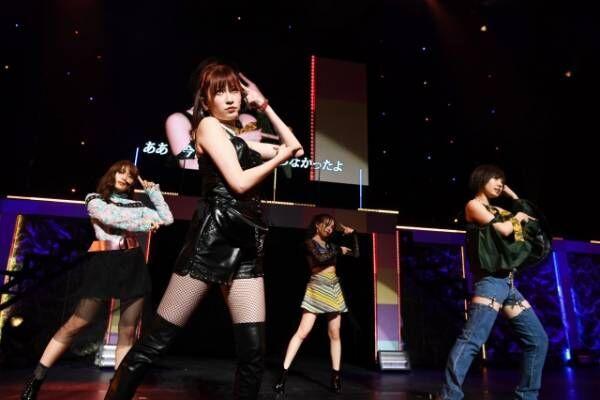NMB48の女性人気ユニットQueentetが初ホールツアースタート(C)NMB48