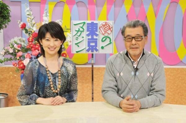 放映開始以来、総合司会を務める森本毅郎と、2007年から6代目アシスタントを務める小島奈津子アナウンサー。(C)TBS