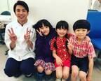"""山田裕貴、『なつぞら』子役と4ショットで""""パパの顔""""「みんな似てる」「絶対良いパパになる」"""