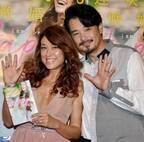 LiLiCo、夫婦会見で幸せオーラ全開 夫・小田井涼平に「よく拾ってくれた!」
