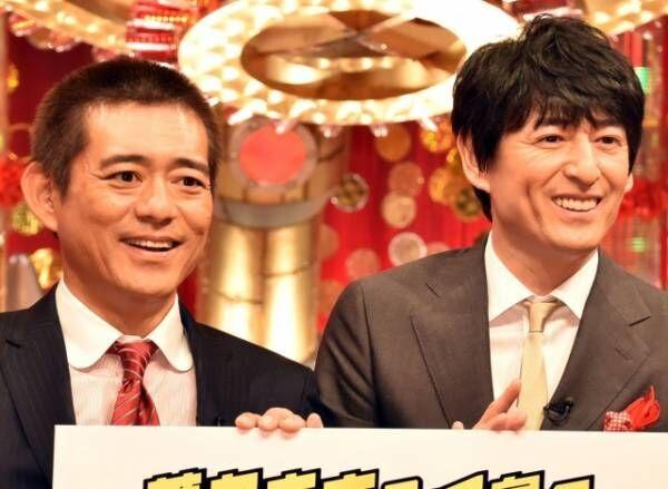 『華丸大吉&千鳥のテッパンいただきます!』会見に出席した(左から)博多華丸、博多大吉 (C)ORICON NewS inc.