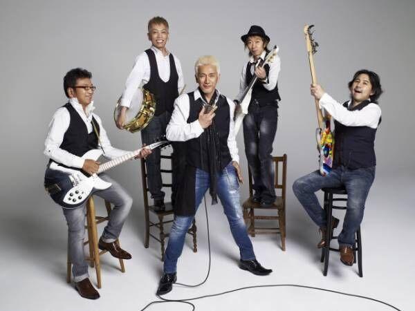 安全地帯ドラム・田中裕二(後列左)が脳内出血を発症し入院甲子園ライブは休演