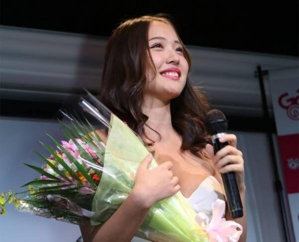 『第2回サンスポGoGoクイーン オーディション』のベストスマイル賞に輝いた水咲優美(C)Deview