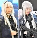 人気グラドル・水沢柚乃も登場、ライフルを手にした美人コンパニオンが共演