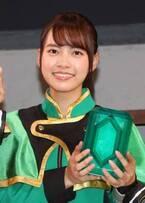 『魔進戦隊キラメイジャー』キラメイグリーン/速見瀬奈役の新條由芽、キラッキラの笑顔で意気込みを明かす
