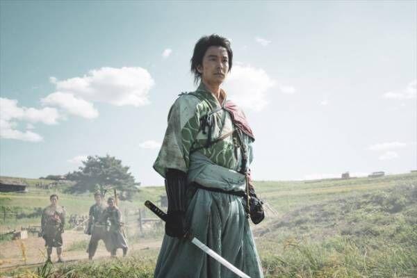 大河ドラマ『麒麟がくる』第1回(1月19日放送)主人公・明智光秀(長谷川博己)(C)NHK