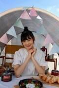 NGT48新センター・藤崎未夢、キャンプの魅力を紹介する連載スタート