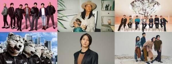 13日放送のTBS系『CDTVライブ!ライブ!』出演者(上段左から)GENERATIONS、平井大、BTS (下段左から)MAN WITH A MISSION、山下智久、緑黄色社会