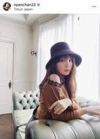 小嶋陽菜、肩出し秋コーデ披露「美しすぎません?」「Beautiful」