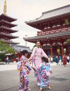 """西山茉希、娘2人と""""親子""""で雑誌の表紙「娘さんの顔初めて見ました」「西山親娘最高!!!!」"""