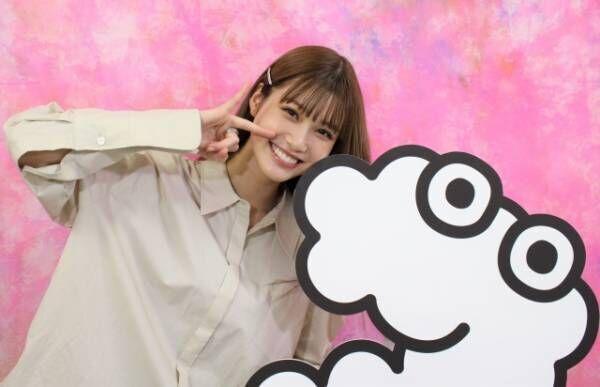 生見愛瑠が『ZIP!』(月~金前5:50)の月替わり金曜パーソナリティーに就任(C)日本テレビ