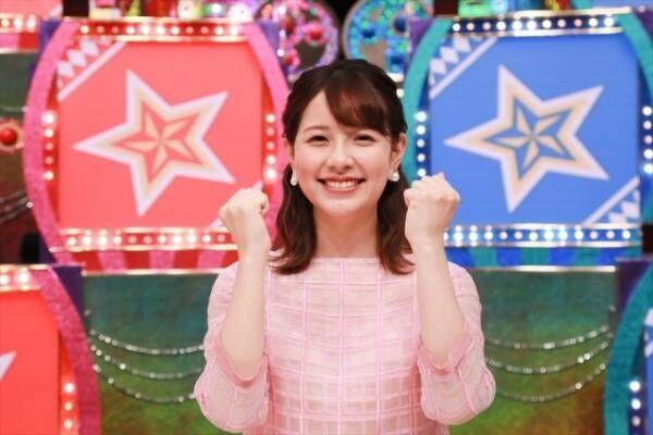 『ミラクル9』久冨慶子アナウンサーのバトンを引き継ぐ、入社1年目の渡辺瑠海アナウンサー (C)テレビ朝日