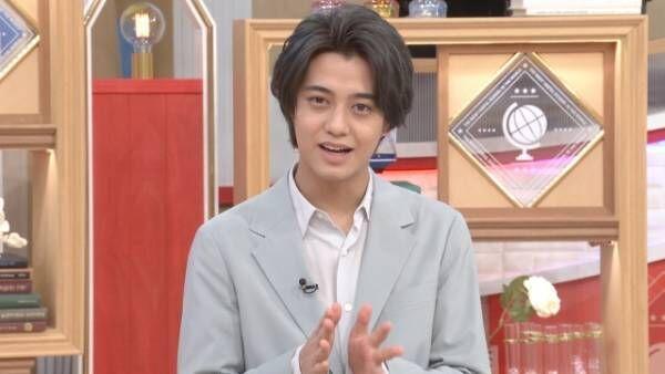 13日放送『世界一受けたい授業』に出演するKing & Princeの高橋海人 (C)日本テレビ