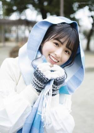 『BUBKA』3月号表紙を飾る乃木坂46・大園桃子