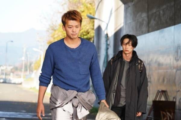 『君と世界が終わる日に』(左から)竹内涼真&笠松将 (C)日本テレビ
