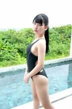 「#2i2」森嶋あんり、憧れの川崎あやリスペクトで競泳水着&ポニーテール【アザーカット到着】