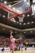 8年間バスケ部補欠のアプガ(2)鍛治島彩、Bリーグのハーフタイムショーでシュート決めた「人生に悔いなし」