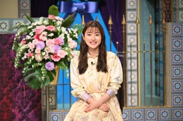 13日放送『踊る!さんま御殿!!3時間SP』に出演する石原さとみ (C)日本テレビ