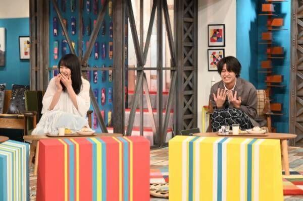 『有吉ジャポンIIジロジロ有吉SP』に出演する(左から)桜井日奈子、高橋海人(C)TBS