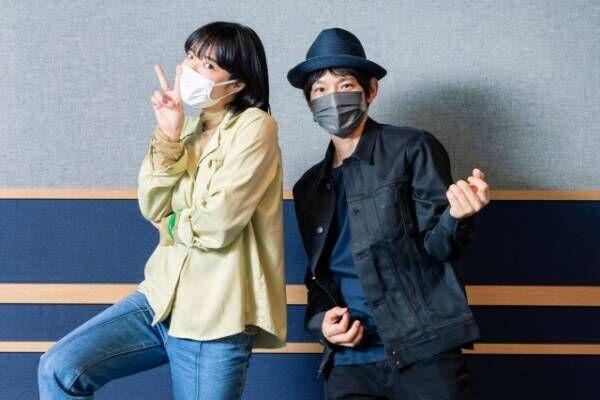 対談を行った(左から)あいみょん、草野マサムネ(C)TOKYO FM