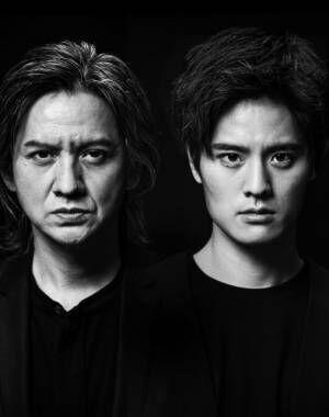 舞台『Le Fils 息子』で共演する(左から)岡本健一、岡本圭人