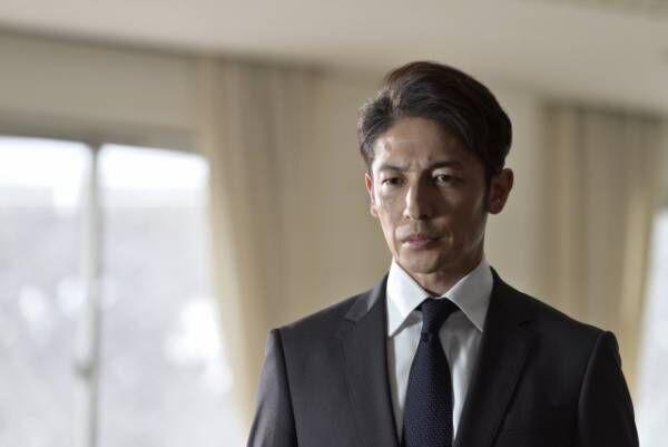 テレビ朝日系木曜ドラマ『桜の塔』第2話より玉木宏 (C)テレビ朝日