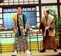 さんま、新喜劇に登場で土下座 間寛平50周年公演で10分の予定が30分出演