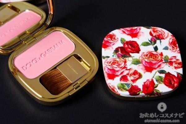 健康的な血色感をプラス!『ドルチェ&ガッバーナ ブラッシュオブローズ ルミナスチークカラー』で頬に華やかなバラ色を纏う
