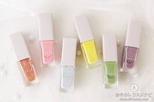 【明日発売】この春限定!可愛いのに大人も使える絶妙カラーのTHREEネイルポリッシュ!