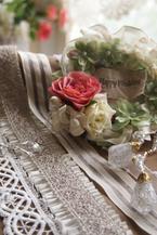 お花とリボンを組み合わせて作る簡単ハンドメイドのセットを販売開始