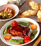 今日の献立は「鶏肉の梅照り焼き」 E・レシピ