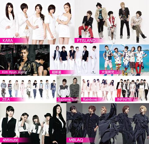 日本初!K-POPオールデイ野外フェス「LOVE-1 FESTIVAL」で復興支援チャリティー花火打ち上げ