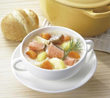 北欧フィンランドの家庭料理を味わう「北欧風 サーモンスープ」が新発売