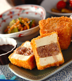 今日の献立は「豆腐のソースカツ」 E・レシピ