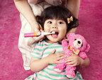 乳歯の仕上げ磨きに便利! やさしい力で磨けるキッズ用電動ハブラシ