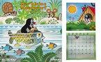 『もぐらのクルテク』 2012年版のファミリーカレンダーが限定発売!