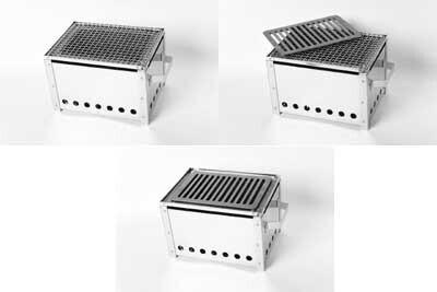 道具のプロと肉のプロが共同開発した、本格的な炭火焼ロースターが新発売