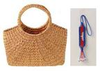 ベネッセ×日本ユネスコ、フェアトレード商品「布袋葵のカゴバッグ」を販売