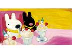 世界初!「リサとガスパール」のカフェ、4月14日(土)オープン!