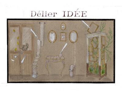 IDEE(イデー)で、パリ在住の新人アーティスト展 「ハンスの魅惑の小部屋」を開催