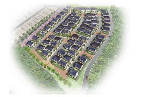 平成24年度(第1回)住宅・建築物省CO2先導事業に「晴美台エコモデルタウン創出事業」が採択