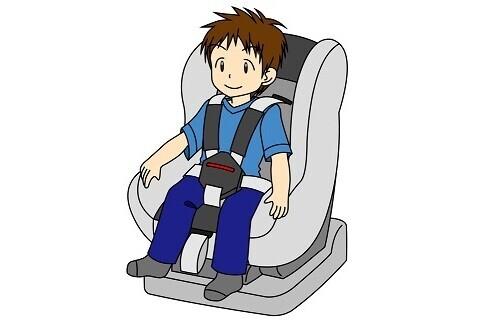 学童用チャイルドシートが必要な目安は身長140cmまで