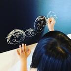 """子育て家庭にオススメ! 100円から買える""""黒板シート""""の活用術4選"""