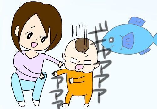 娘が水族館を大好きになる │ パピマミ