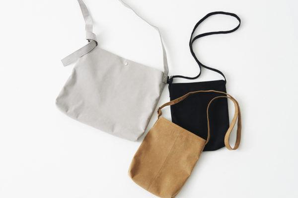 タフなのに軽やか! 春が似合う『Creed(クリード)』のスエードバッグ。