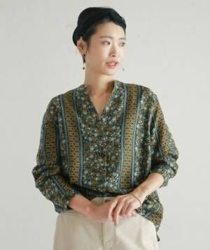 一着は持っていたい!大人の余裕で魅せる、「柄シャツ」。