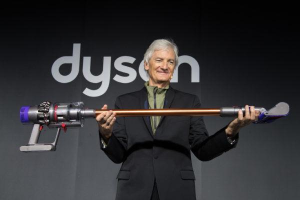 あの『ダイソン』のコードレス掃除機が、より軽量化、よりパワフルに進化!