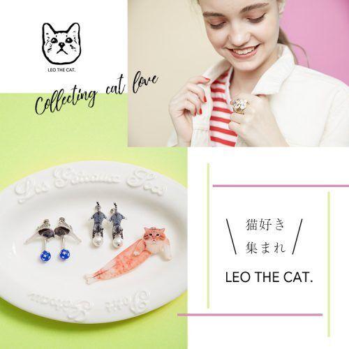 こんなアイテム欲しかった! 猫好きによる猫好きのための『LEO THE CAT.』のアクセサリー7選