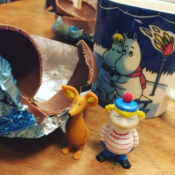 MAIOHTA DESIGN-大田舞のフィンランド通信(14)全部集めたくなる、可愛さ。ムーミンのイースターチョコたまご